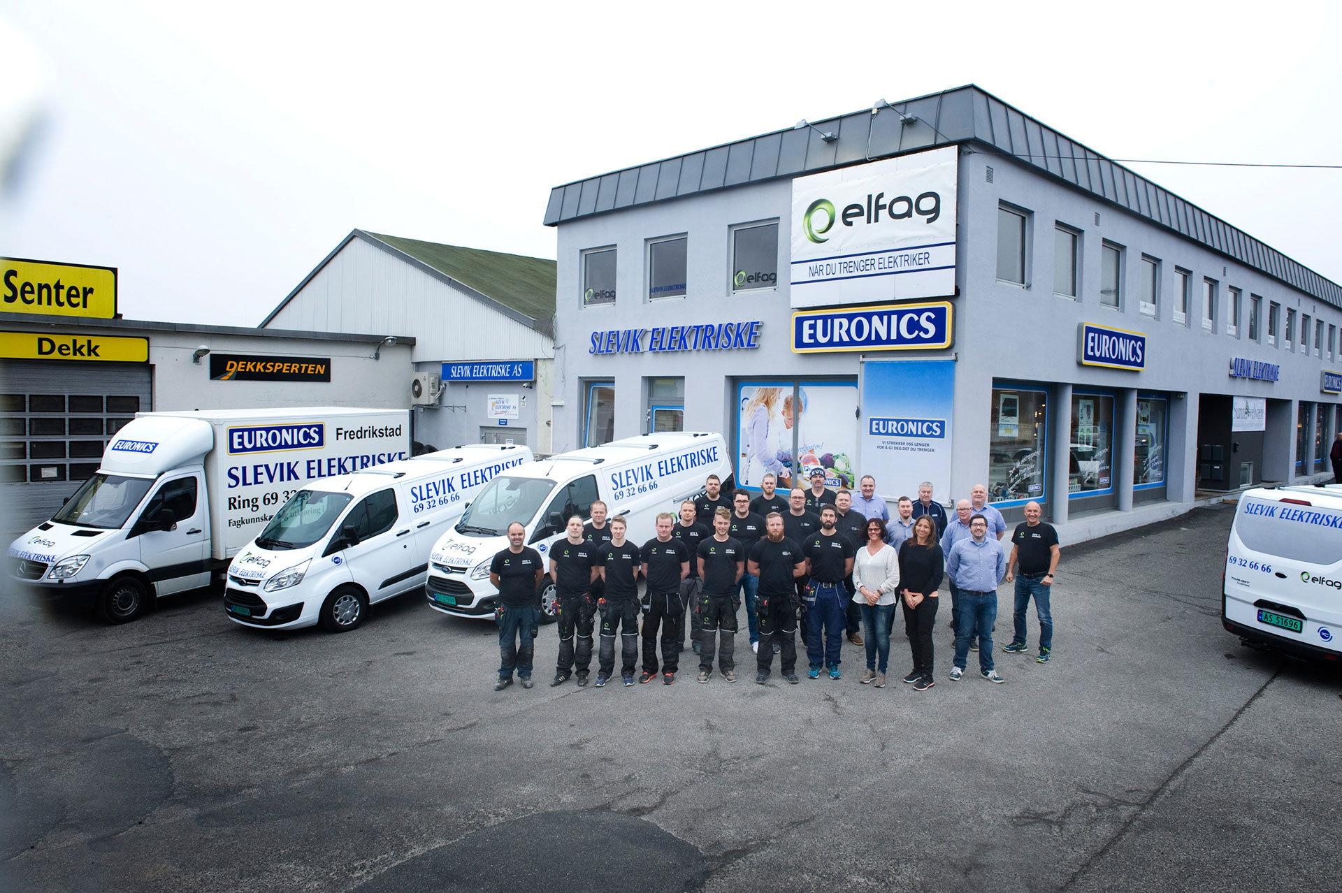 bilde av ansatte som kan utføre elektriker tjenester